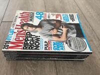 Men's health magazines bulk buy