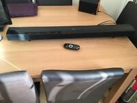 LG Sound bar / Soundbar with remote control