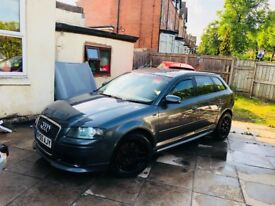 Modified Sportsback Sline Audi A3 2.0 TFSI Quattro Sportsback. 200bhp not remapped rs3 replica