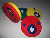 Swim Discs by Delphin (like armbands but no need to inflate) £10 for set of 4