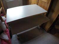 Computer desk - grey