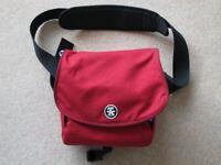 Red Crumpler Messenger Camera Bag - as new