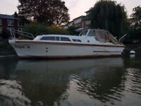 31 ft River Cruiser boat