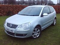 2006 v/w polo 1.9tdi 3 DOOR (REAR CAR ONLY 600 MADE) AS NEW CAR VERY FAST