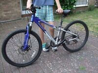 APOLLO XC 24 MOUNTAIN BIKE SUITABLE FOR 8-13 YEAR OLD APPROX