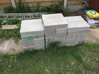 40 brand new concrete block