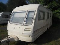 4 berth avondale caravan with full size Awning & Extras 1998