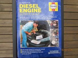USED AUTOMOTIVE DIESEL ENGINE SERVICE GUIDE BY HAYNES