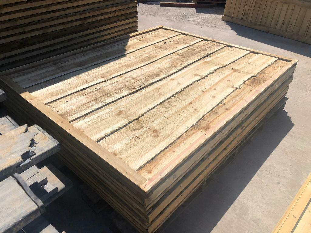 Pressure Treated Tanalised Decking Boards 6 inch