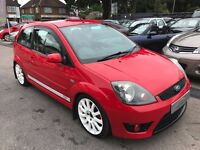 2006/06 FORD FIESTA 2.0 ST,3 DOOR,LOW MILEAGE,GREAT LOOKS+DRIVES REALLY WELL,IN STOCK NOW