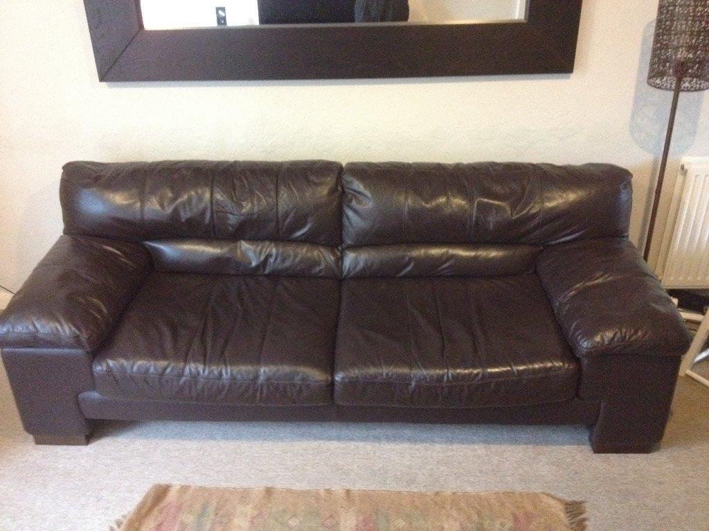 Dfs Latino 3 Seater Leather Sofa In Aston Clinton Buckinghamshire Gumtree