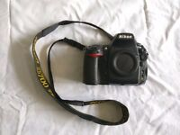 Nikon D700 professional SLR full frame camera in used condition