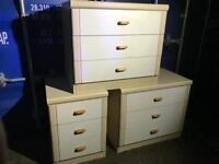 3 chests of drawers FREE DELIVERY PLYMOUTH AREA