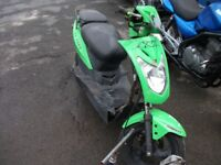 Kymco Agility 50 with 125 engine parts or repair