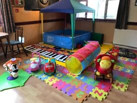 Ball pond and Soft play package