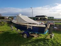 Orkney Day fishing boat 16ft