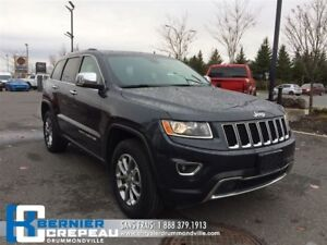 2016 Jeep Grand Cherokee Limited **TOIT OUVRANT + CAMERA + ENS.