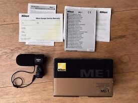 Nikon ME 1 - Stereo Microphone (mint condition)