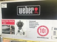 Weber master touch gbs charcoal grill slate blue brand new in box price marked £295