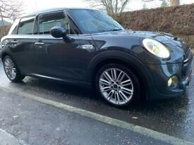 """Mini 17"""" Alloy Wheels with Winter Tyres"""
