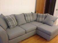 Grey DFS Jasper Corner Sofa