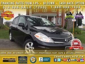2010 Nissan Versa SL-$35/Wk-Sunroof-Bluetooth-iPod/AUX/CD-Hatchb