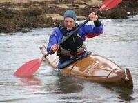 Beautiful strip cedar sea kayak for sale