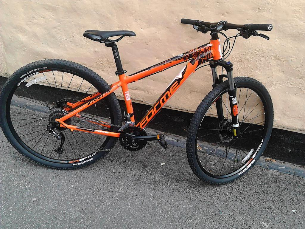 Forme Allport Mountain Bike In Orange 16 Inch Frame In