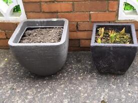 Planters x 2