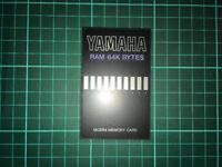yamaha mcd64 mcd 64 memory card