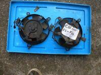 HONDA CBR 600 CBR600 FS-FW 1995-1998 RADIATOR COOLING FANS