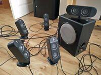 Logitech x-530 6 speakers
