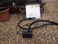 Garden pond pump