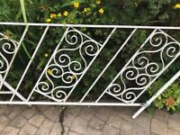 Wrought Iron Handrails for steps.