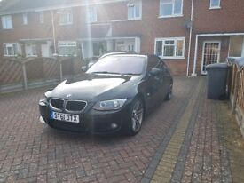 BMW 3 SERIES 320i M SPORT, Full Service History, 2 Keys, Red Leather, Xenon Lights, Bluetooth.