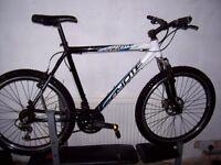 aluminium mans mountain bike