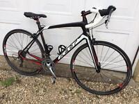 felt carbon frame road bike, size medium/large