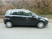 CHEVROLET AVEO 1.2 LS 5 DOOR. ONE PREVIOUS KEEPER. SERVICE HISTORY. MOT.