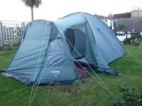 TENT vango 500 - suitable for 5/6 persons - Room to stand as its a taller type £70.00