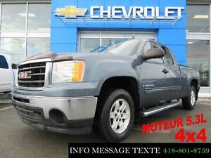 2009 GMC SIERRA 1500 4WD EXTENDED CAB 5.3L 4x4