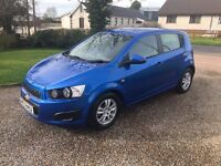 2012 CHEVROLET AVEO 1.2 LT -- LOW INSURANCE -- FULL HISTORY --