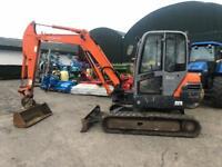 Hitachi ZX50 Digger / Excavator