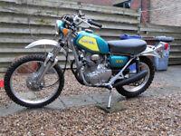 Honda SL350K2 1972 Trail UK Reg Full MOT - Superb -Poss Part Ex Project