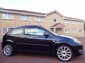 12 MONTHS WARRANTY! (2007) FORD FIESTA ST Black- 2 Lady Owners- Full FORD Service History (8 Stamps)