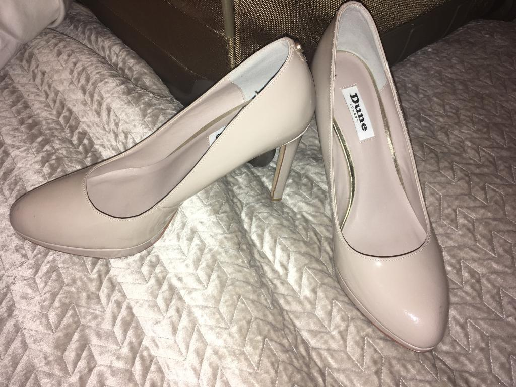 Fine Court shoes taupe / grey size 6 / 39