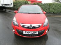 2014 VAUXHALL CORSA 1.2 EXCITE LOW MILEAGE CHEAP TO RUN GREAT CONDITION