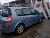 Renault grand scenic 2005 blue 1.5dci breaking for parts