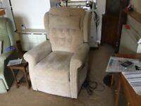 Recline/massage Westminster chair