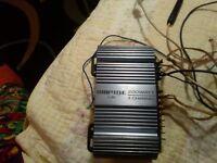 stereo amplifier pine j-20 200 watt 4 channel