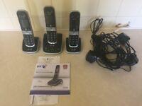 BT 8610 trio home phone system